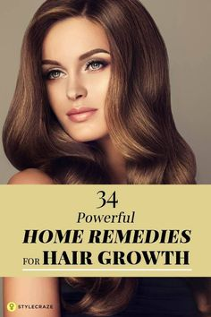40 Powerful Home Remedies For Hair Growth That Work Wonders