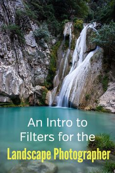 An Intro to Filters for the Landscape Photographer. How to use photo filters to get beautiful results in nature and travel photography. Circular polarizer, polarizing filter, neutral density filters, ND, graduated neutral density filter, GND, long exposure, slow shutter speed, reduce light, increase contrast, show movement in clouds, blur water. #loadedlandscapes #naturephotography #photographytips #landscapephotography