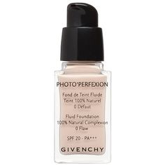 Givenchy Photo'Perfexion SPF20 ($43) ❤ liked on Polyvore featuring beauty products, makeup, face makeup, foundation, beauty, fillers, givenchy foundation and givenchy