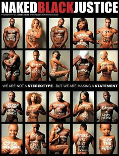 Naked BLACK Justice- have you seen this?!