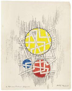 László Moholy-Nagy  Untitled  1946 Guggenheim Museum