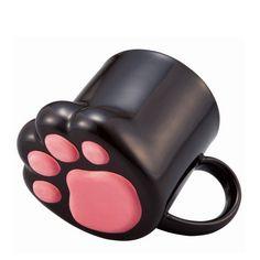 Tasse Céramique patte de chat ou chien et Accessoires Patte de Chien ou de Chat         Livraison offerte dans le monde entier    Commande le ici ---> https://animalerie-discount.com/mignon-creative-chat-pattes-personnalite-ceramique-lait-tasse-bureau-cafe-tumbler-petit-dejeuner-tasses-mcc031/
