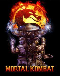 Mortal Kombat by chamakoso on DeviantArt Scorpion Mortal Kombat, Raiden De Mortal Kombat, Arte Kombat Mortal, Johnny Cage, Gamer 4 Life, Mileena, Thundercats, Image Comics, Fighting Games