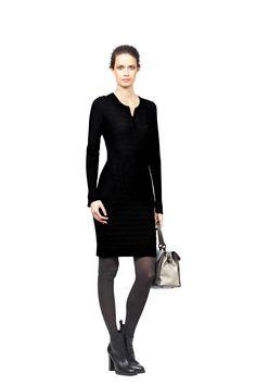 Gebreide jurk van 100% merinowol | Claudia Sträter