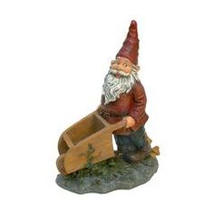 Classic Garden Decor – XoticBrands Home Decor Wheelbarrow Garden, Gnome Garden, Garden Grass, Big Garden, Fruit Garden, Easy Garden, Garden Planters, Gnome Statues, Garden Statues