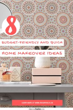 When are you the last remodeling your home? If you don't remember it, then it's time to do. When it comes to remodeling a home, it's fun to dream big, isn't it? Who wouldn't love to show off new interiors with lovely hues, fresh furniture, and a dazzling ambiance? #decorholic #homemakeoverideas #budgetfriendly #remodeling #diyproject #homedecor #dreamhouses
