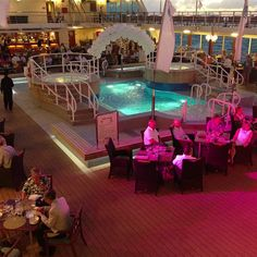 """A """"White Night"""" party in Sorrento, Italy. #travel #cruises"""