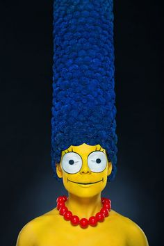 'Real-life' Marge Simpson is jaw-dropping (and kinda terrifying)