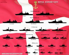 [Warship] The Royal Danish Navy in 2017 Military Units, Military Weapons, Army Structure, Navy Special Forces, Navy Coast Guard, Military Drawings, Merchant Marine, Navy Ships, Aircraft Carrier