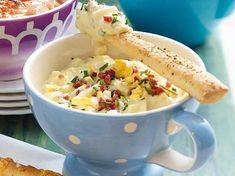 Unser beliebtes Rezept für Eier-Bacon-Dip und mehr als 55.000 weitere kostenlose Rezepte auf LECKER.de.
