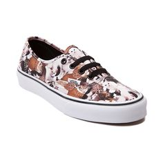 Take a stand for our furry feline friends with the new ASPCA Authentic Kittens Skate Shoe from Vans! The American Society for the Prevention of Cruelty to Animals teams up with Vans to bring you this Authentic Skate Sneaker featuring a collage of cute kittens printed on a sturdy canvas upper with lace-up closure for a secure fit, and vulcanized rubber outsole with signature waffle tread for flexible traction. Available only online at Journeys.com and SHIbyJourneys.com!