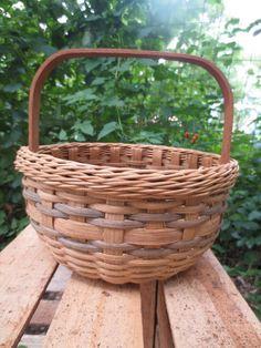 Vintage Cherokee Indians Basket Native American Weaver Signed Numbered | eBay