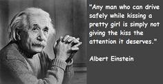 Albert Einstein Quote Pretty Girl