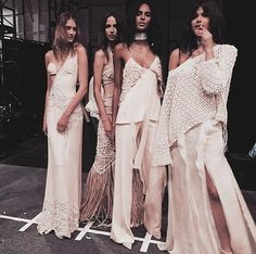 Another prime example of this came at Couture fashion week th… Fashion Line, Runway Fashion, Fashion Models, High Fashion, Dress Fashion, Haute Couture Style, Jacquemus, Ellie Saab, Vogue