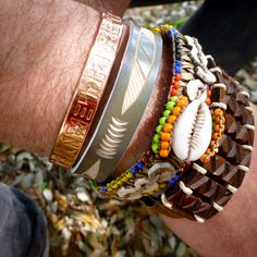 Handcrafted bracelets, all from Africa but only the Band4Hope can travel the world & be tracked as it gathers miles, history & hopes for years to come... #4Hope