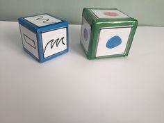 Con cada dado voy creando - Aprender Juntos Dado, Barware, Coasters, Decorative Boxes, Home Decor, Vitamin E, Decoration Home, Room Decor, Bar Accessories