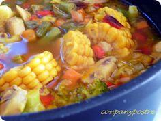 Con pan y postre: Fiesta vegetal con aroma de jengibre