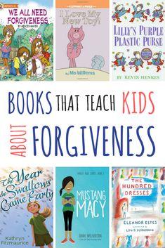 Books That Teach Kids About Forgiveness