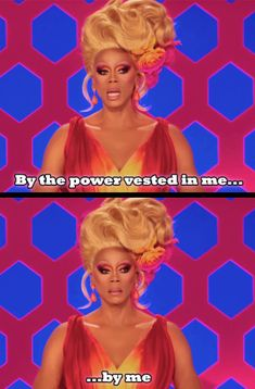 When she was the law. | 19 Times RuPaul Was Absolutely Iconic