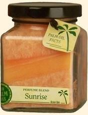 PERFUME BLENDED CUBE JAR CANDLE - Sunrise