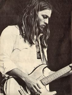 David Gilmour (Pink Floyd) - My #2 favorite guitarist of all time.