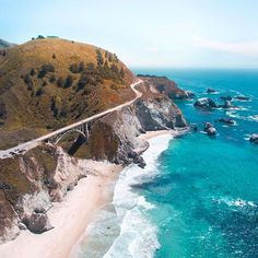 This amazing coastline belongs to Big Sur, California (U.S.). A place to get away from turbulent everyday life, go in peace and find inspiration. It`s a `must see` if you go on a California road trip. The rich nature with rocky shores, wild flowers, birds, sea otters and many breathtaking sceneries is what makes Big Sur a great place to visit and admire. Just breathe in the superb Big Sur.