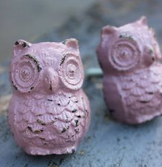 calamine owl door knob by the forest & co   notonthehighstreet.com