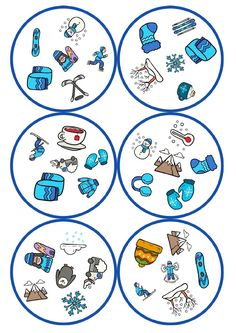 juego de mesa dobble motivos llega el frio -Orientacion Andujar Learning Shapes, Kids Learning, Infant Activities, Activities For Kids, Kindergarten Portfolio, Shape Games, Early Math, English Activities, Games For Toddlers