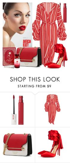 """""""Santa Fe Linen Dress"""" by direktorcic ❤ liked on Polyvore featuring Maybelline, Johanna Ortiz, Christian Louboutin and Disney"""