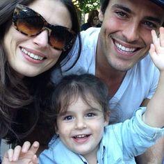Tim, Sophia, niece Lisa