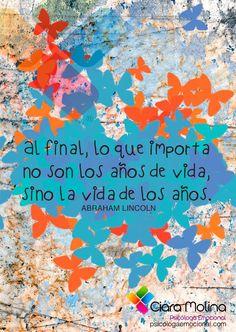 VIVE... (((Sesiones y Cursos Online www.ciaramolina.com #psicologia #emociones #salud)))