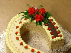 Recept na podkovu | www.pečení.info Deserts, Cake, Food, Pie Cake, Desserts, Meal, Cakes, Essen, Hoods