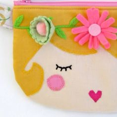Cute change purse by Pretty Little Things by Lori Marie. She is SO talented!
