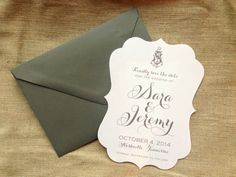Nautical Save the Dates by Nico and LaLa