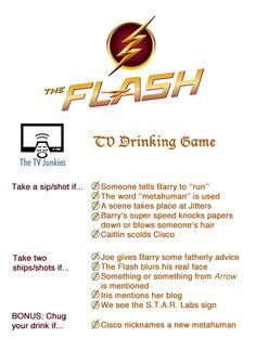 Flash Drinking Game