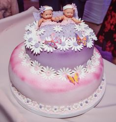 Cake for twins❤️