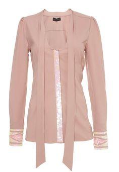 Glamorous blouse roze