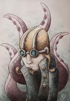 Guido Vitabile - illustration about Ismaele - Akronya Studio - Massoneria Creativa - www.massoneriacreativa.com