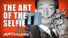 With millions of selfies out there you might not realize the idea has been around for years. People have been trying to capture their own image for centuries...