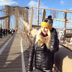 Emozionante il ponte di Brooklyn!  #newyork #bridge #brooklyn #sun #travel