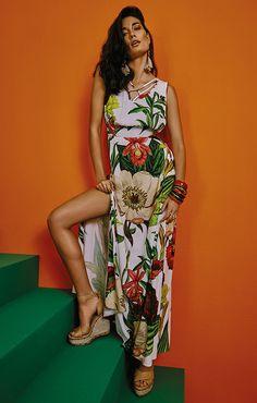 Vestido Morena Rosa, lookbook verão 2017.
