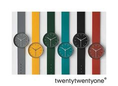 Uniform Wares 100 Series Watches #watch #colorful