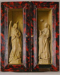 Jan Van Eyck: Enthronement of St. Mary Triptych