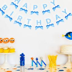 Join in on all the excitement of the Finding Nemo sequel with this Finding Dory birthday party guide that includes lots of free printables