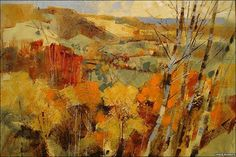 A painting by Chris Forsey