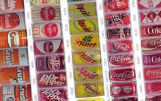 Soft Drink Can Designs: Their Evolution Since the 50s
