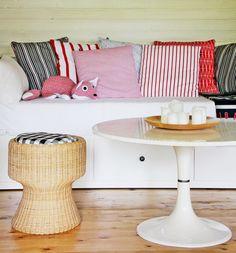 CIRKUS: mökkielämää // from summer cottage Interior Inspiration, Cottage, Table, Summer, Furniture, Home Decor, Fresh, Blog, Summer Time