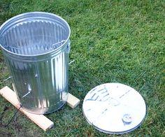 Garbage Can Turkey Smoker tutorial