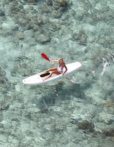 kayak in clear water #kayak #kayaking #kayaker