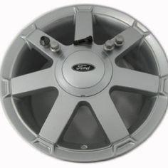 Ford Fiesta MK6 6.5J x 16-inch Silver Finish Alloy Wheel Alloy Wheel,